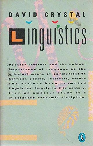 9780140226409: Linguistics: Second Edition (Pelican)