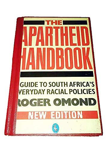 9780140227499: The Apartheid Handbook (Pelican)