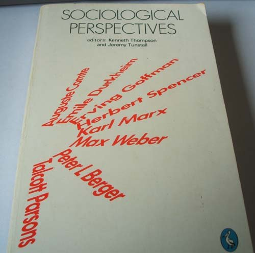 9780140227680: Sociological Perspectives: Selected Readings (Pelican)