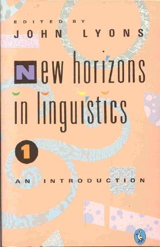 9780140227864: New Horizons in Linguistics: v. 1 (Pelican)