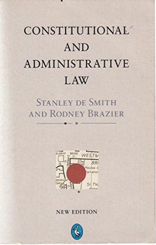 9780140228144: Constitutional and Administrative Law (Pelican)