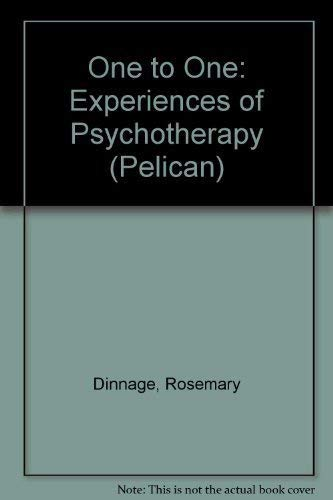 9780140228168: One to One: Experiences of Psychotherapy (Pelican)