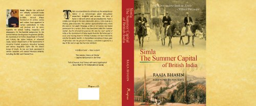 9780140230413: Simla: The Summer Capital of British India