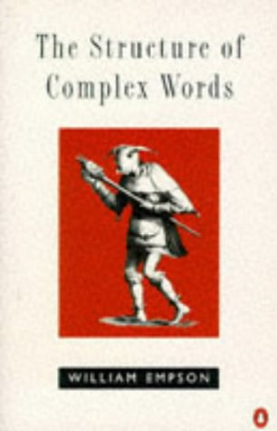 9780140231489: The Structure of Complex Words (Penguin Literary Criticism)