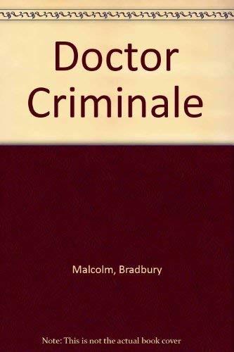 9780140231670: Doctor Criminale