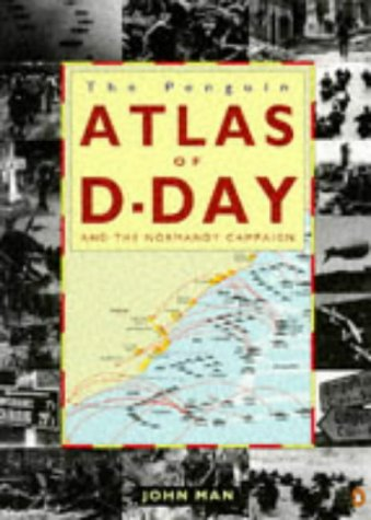 9780140238594: Atlas of the D-Day and Normandy Landings