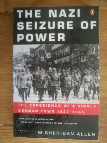 9780140239683: The Nazi Seizure of Power