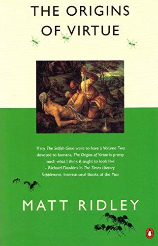 9780140244045: The Origins of Virtue (Penguin Press Science)