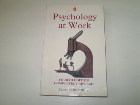 9780140246483: Psychology at Work (Penguin psychology)