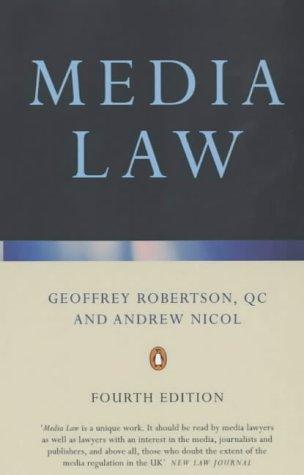 9780140247695: Media Law 4e