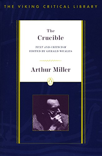 9780140247725: The Crucible: Text and Criticism