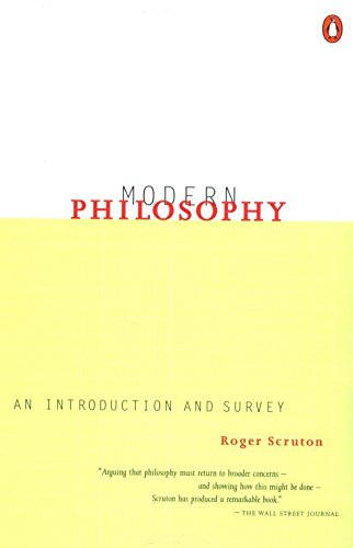 9780140249071: Modern Philosophy: An Introduction and Survey
