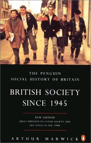 9780140249392: British Society Since 1945 3rd Edition (Penguin Social History of Britain)
