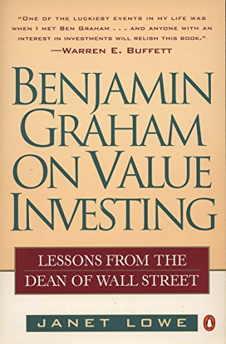 9780140255348: Benjamin Graham on Value Investing: Lessons from the Dean of Wall Street