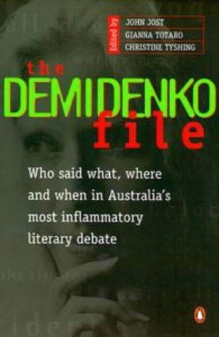 9780140257137: The Demidenko File