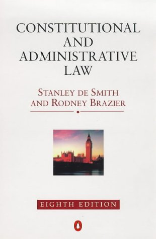 9780140258165: Constitutional and Administrative Law