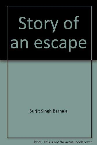9780140259537: Story of an escape