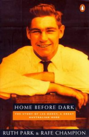 9780140261318: Home before Dark: the Story of Les Darcy, a Great Australian Hero