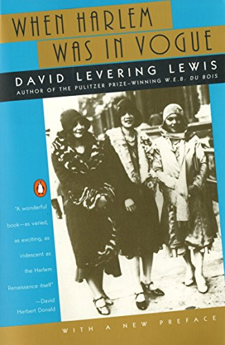 When Harlem Was in Vogue (0140263349) by David  Levering Lewis