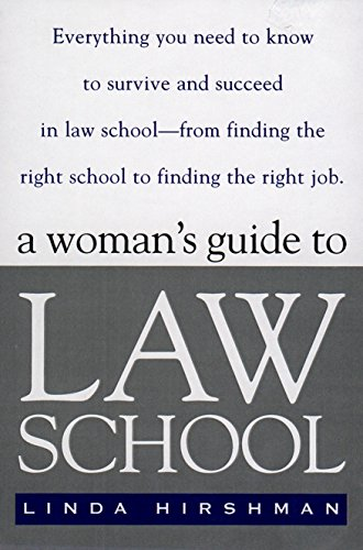 9780140264371: A Woman's Guide to Law School: Everything You Need to Know to Survive and Succeed in Law School--from Finding the Right School to Finding the Right Job