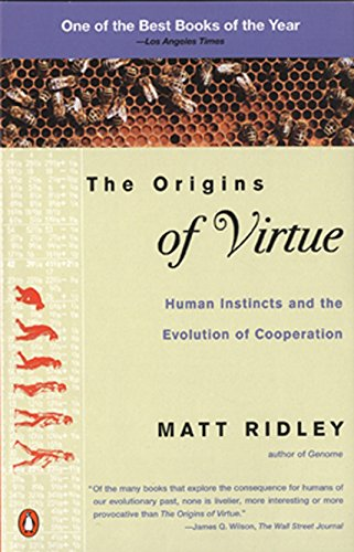 9780140264456: The Origins of Virtue: Human Instincts and the Evolution of Cooperation