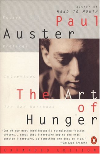 9780140267501: The Art of Hunger: Essays, Prefaces, Interviews, The Red Notebook