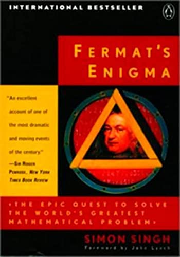 9780140268690: (Fermat's Enigma: The Epic Quest to Solve the World's Greatest Mathematical Problem) By Singh, Simon (Author) Paperback on (09 , 1998)