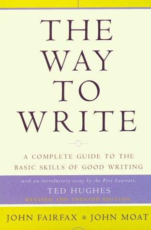 9780140272703: The Way to Write