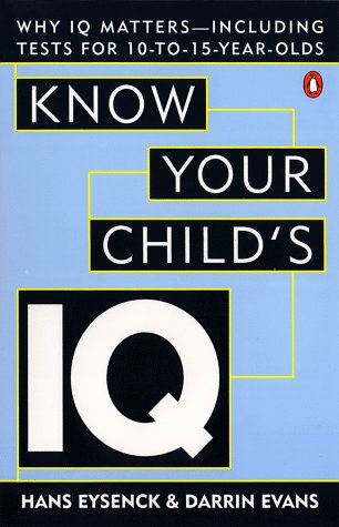 9780140274646: Know Your Child's IQ
