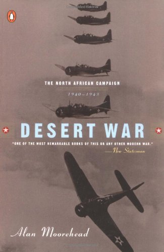 9780140275148: Desert War: 1940-1943: the Classic Account of WWII Battles in North Africa