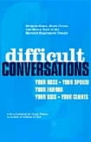 9780140277821: Difficult Conversations: How to Discuss What Matters Most