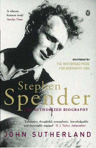 9780140278897: Stephen Spender: The Authorized Biography
