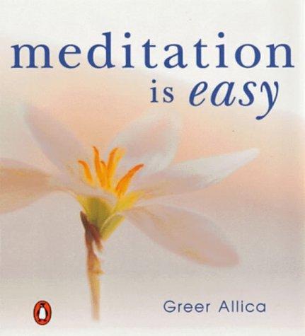 9780140278927: Meditation is Easy!