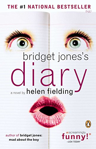 Cover of the book, Bridget Jones's Diary (Bridget Jones, #1).