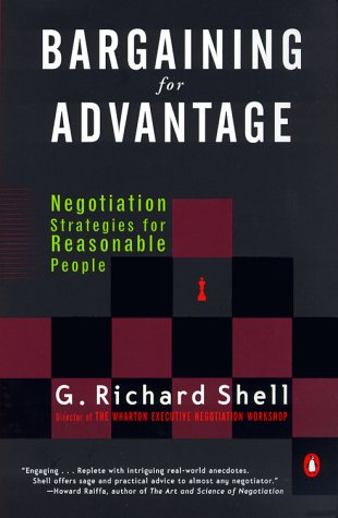 9780140281910: Bargaining for Advantage : Negotiation Strategies for Reasonable People