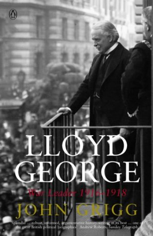 9780140284270: Lloyd George: War Leader 1916-1918