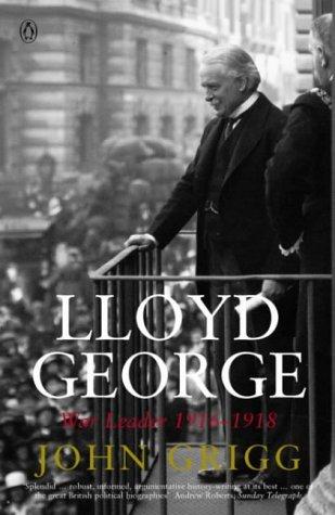 9780140284270: Lloyd George: War Leader 1916-1918