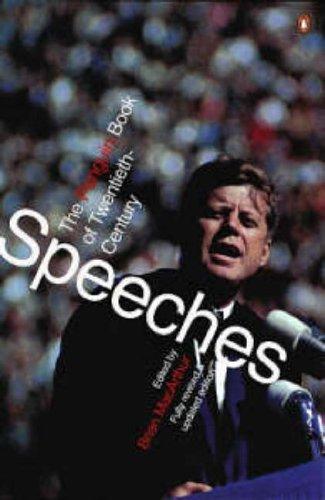 9780140285000: The Penguin Book of Modern Speeches
