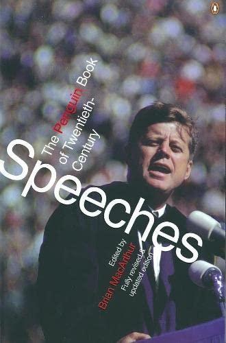9780140285000: The Penguin Book of Twentieth-Century Speeches