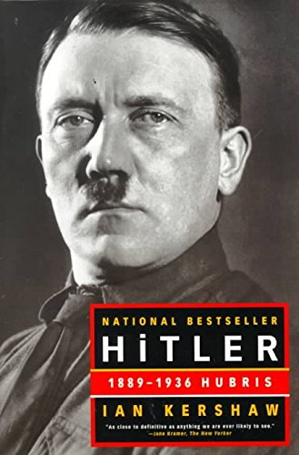 9780140285505: Hitler, 1889-1936: Hubris (Penguin Press history)