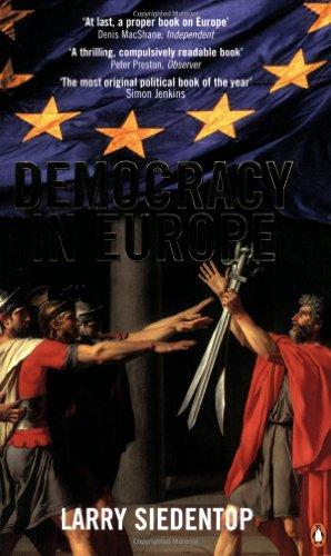 9780140287936: Democracy In Europe