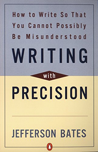 9780140288537: Writing with Precision