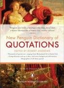 9780140292671: New Penguin Dictionay Of Quotations