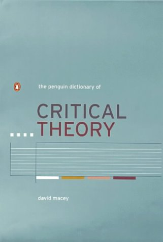 9780140293210: The Penguin Dictionary of Critical Theory (Penguin Reference Books)