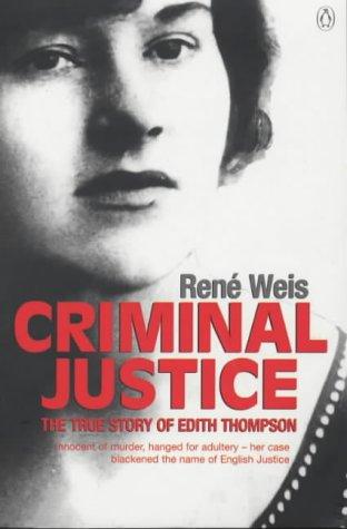 9780140294620: Criminal Justice