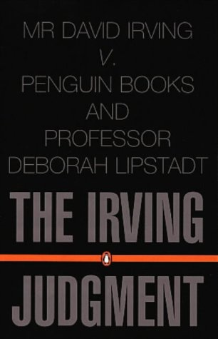 9780140298994: The Irving Judgment (Law)
