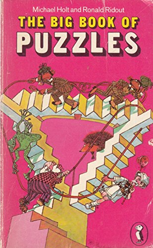 The Big Book Of Puzzles (Puffin Books): Holt, Michael; Ridout,