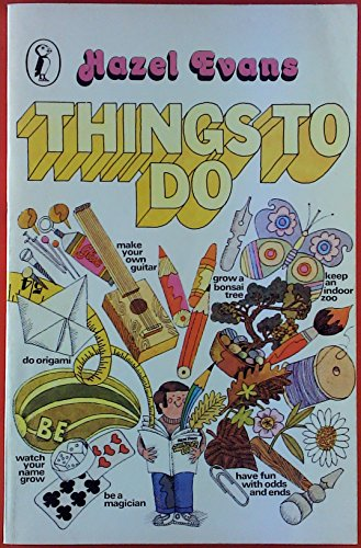 9780140308839: Things to Do (Puffin Books)