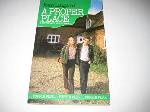 9780140310368: A Proper Place (Puffin Books)