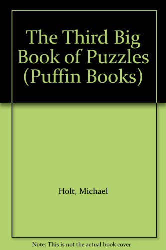 9780140311112: The Third Big Book of Puzzles (Puffin Books)